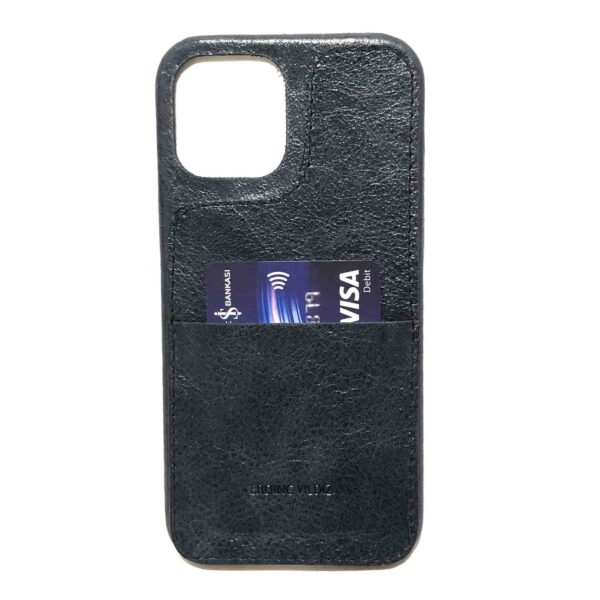 iPhone Leather Case Card Holder